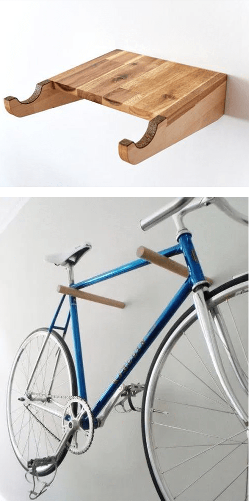 kerékpár tárolása garázsban