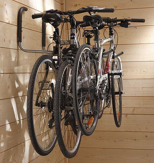3 kerékpár fali kerékpártárolón
