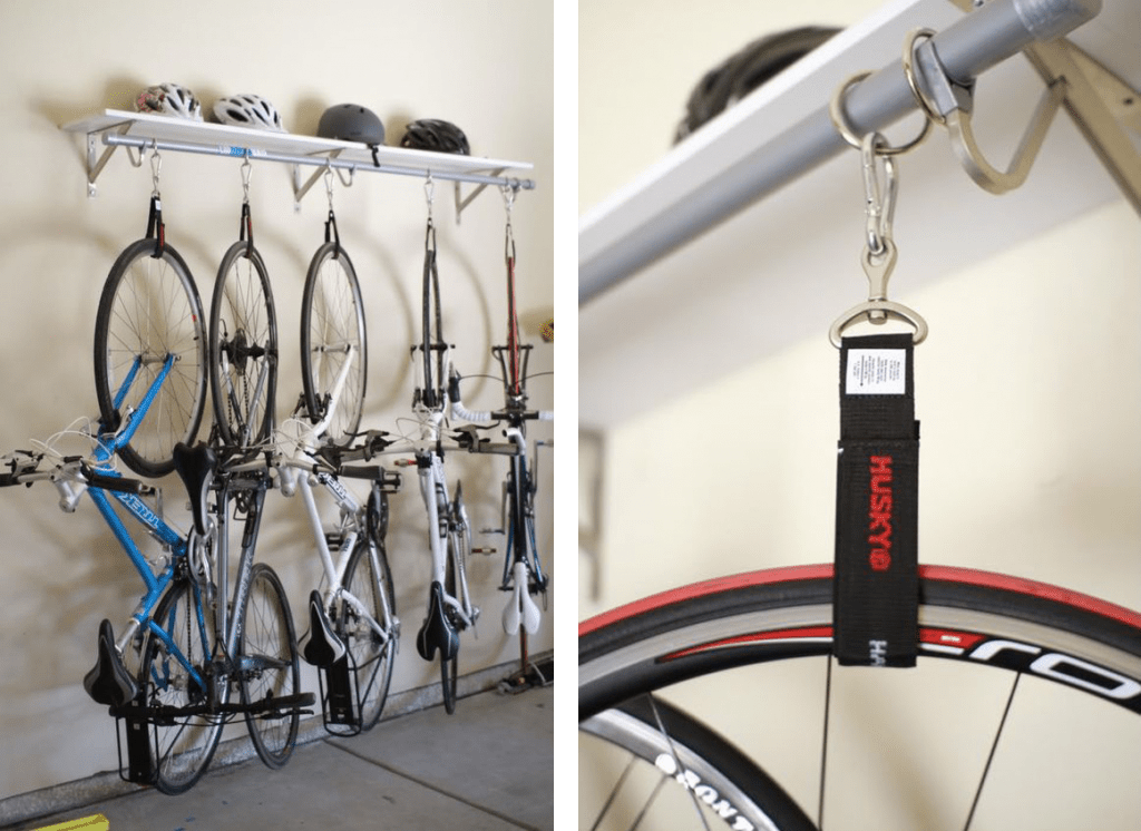 kerékpár lógatás hevederrel